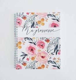 Moments ancrés Mon journal de grossesse - Fleurs printanières