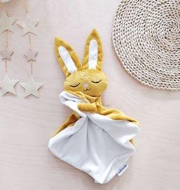 Veille sur toi Bunny Baby Blankie - Sleeping Marcel