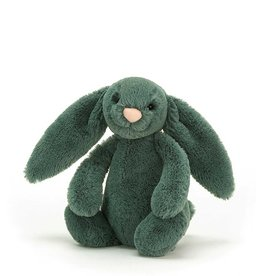 Jelly Cat Peluche - Lapin timide vert forêt - Petit