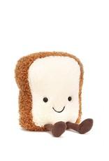 Jelly Cat Peluche - Tranche de pain amusante - Petit