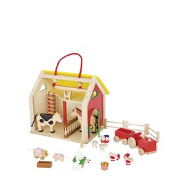 Goki Suitcase Cottage With Accessories