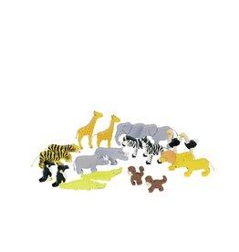 Goki Wooden Toy - African Animals