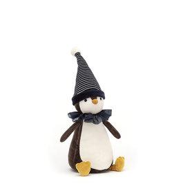 Jelly Cat Peluche - Pinguin de Noël
