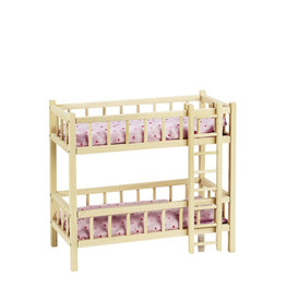 Goki Bunk Bed For Doll With Ladder