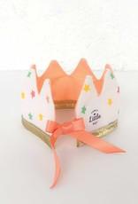 Fancy Little Day Mini couronne pour poupée étoiles multicolores pêche