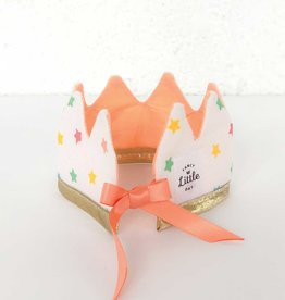 Fancy Little Day Mini Crown For Doll Multicolored Stars and Peach
