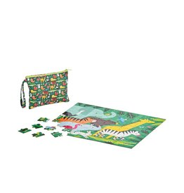 Petit Collage Puzzle - Double Sided On-The-Go Animal 4+