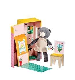 Petit Collage Animal Play Set - Beatrice The Bear