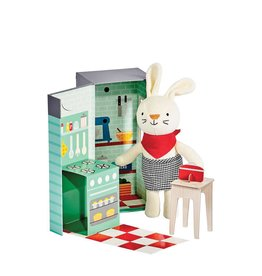 Petit Collage Animal Play Set - Rubie The Rabbit