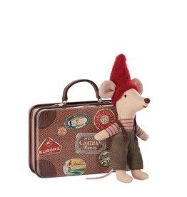 Maileg Souris de Noël et sa valise de voyage