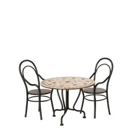 Maileg Table à diner avec deux chaises