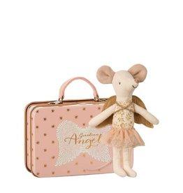 Maileg Grande soeur souris ange gardien dans une valise