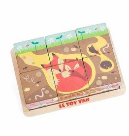 Le Toy Van Cubes en bois Les Saisons