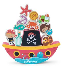 Le Toy Van Pirate balance 'Rock 'n' Stack