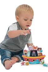 Le Toy Van Pirate balance 'Rock 'n' Stack