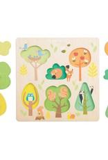 Le Toy Van Puzzle Petits arbres et animaux des bois