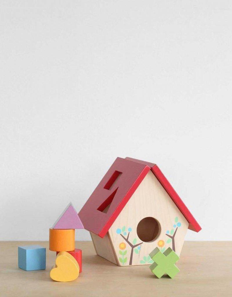 Le Toy Van Bird House Shape Sorter