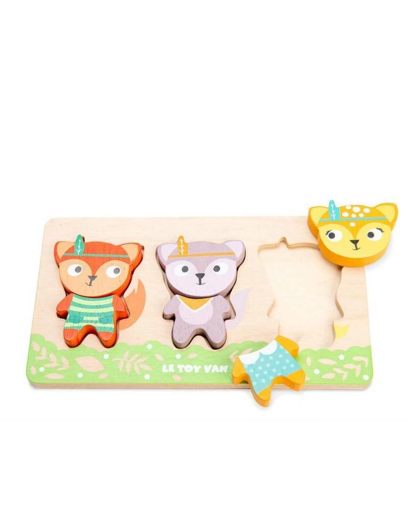 Le Toy Van Little Fox Puzzle