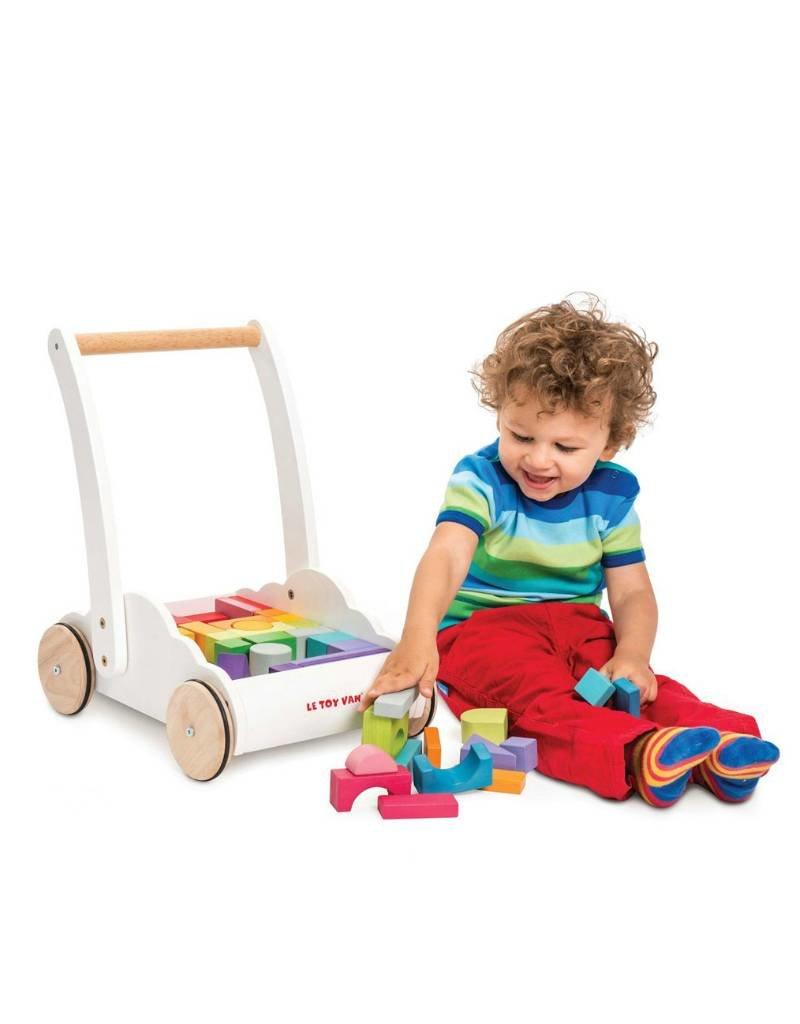 Le Toy Van Trotteur Nuage Arc-en-ciel