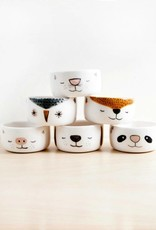 Noe Marin Ceramiste Ceramic - cute animal bowls