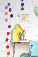 Atelier Rue Tabage FRAMES WALL XXL - Giant coloring