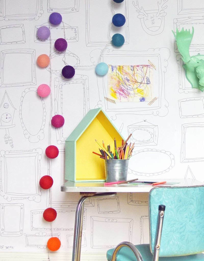 Atelier Rue Tabaga FRAMES WALL XXL - Giant coloring