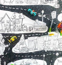 Atelier Rue Tabaga La ville - Coloriage géant