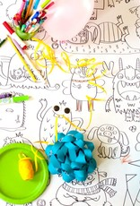 Atelier Rue Tabage Little monsters - Giant coloring