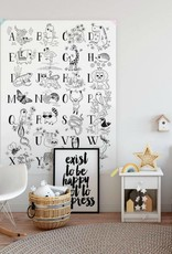 Atelier Rue Tabaga Illustrated alphabet - Giant coloring
