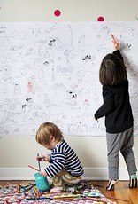 Atelier Rue Tabage Forest Veille sur toi - Giant coloring