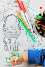 Atelier Rue Tabaga Circus - Giant coloring