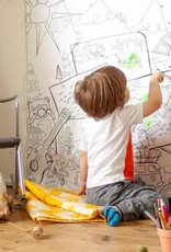 Atelier Rue Tabage Kumbaya - Coloriage géant