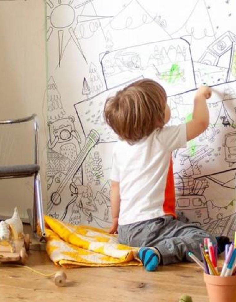 Atelier Rue Tabage Kumbaya - Giant coloring