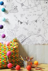 Atelier Rue Tabaga Festive - Giant coloring