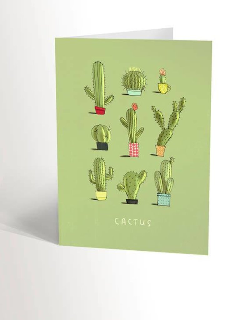 Valérie Boivin Illustrations Greeting card - Cactus