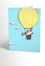 Valérie Boivin Illustrations Greeting Card - Sky
