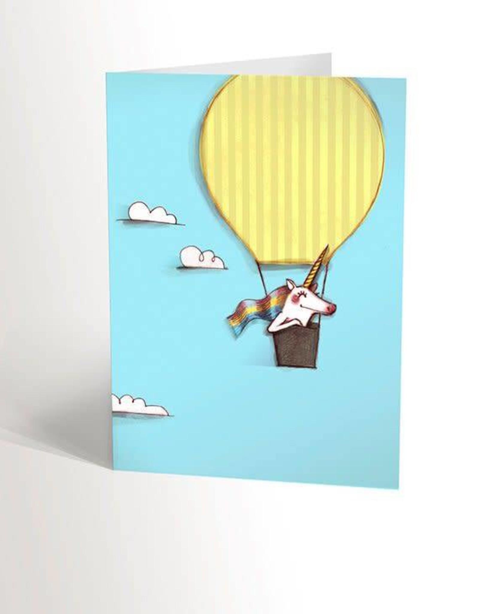 Valérie Boivin Illustrations Greeting Card - Sky