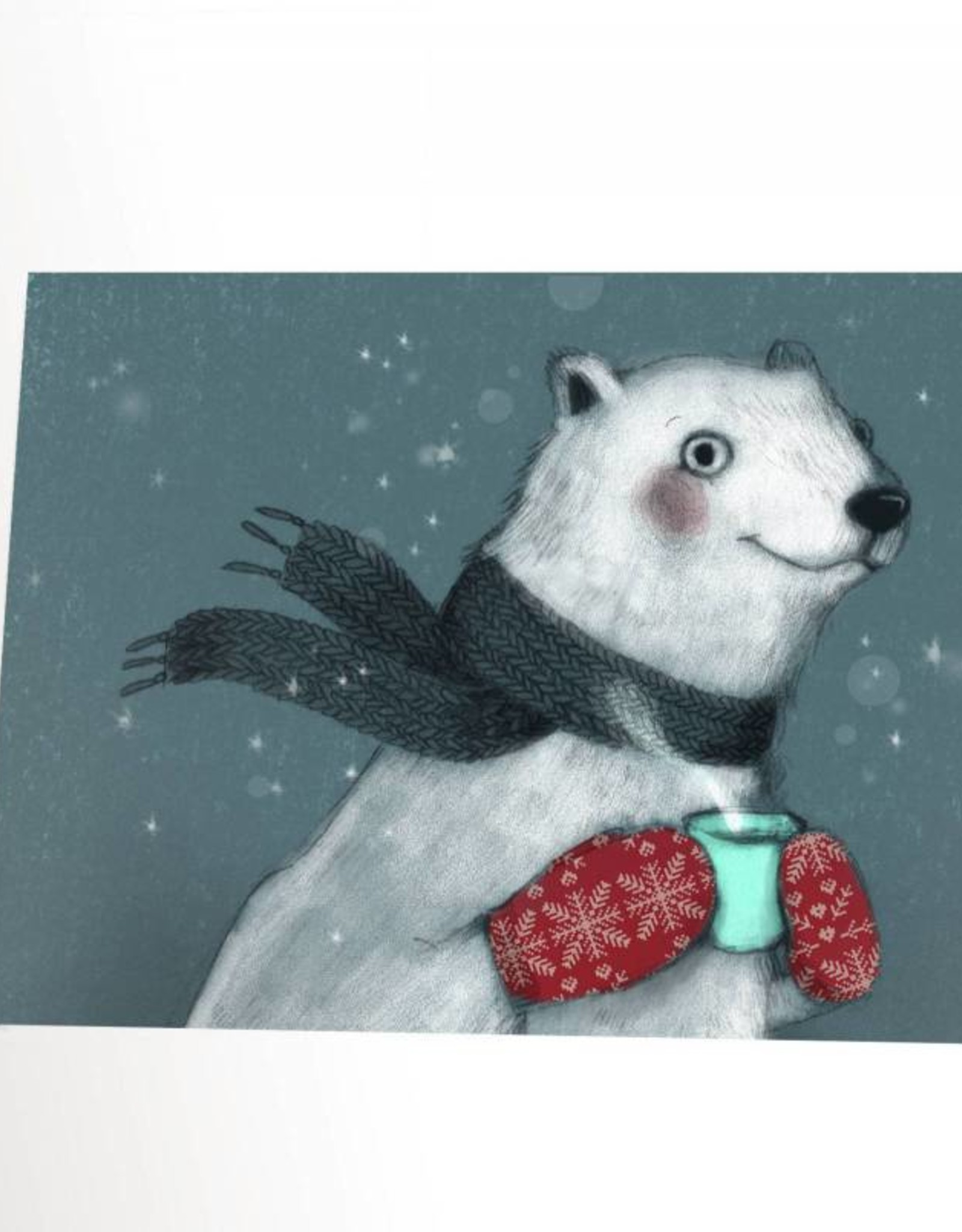 Valérie Boivin Illustrations Greeting card - Polar bear