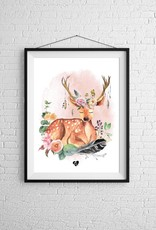 Zack et Livia Illustration - Deer