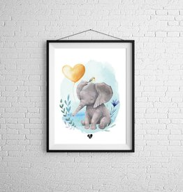 Zack et Livia Illustration - Elephant