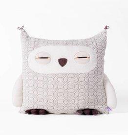 Velvet Moustache Grey Owl