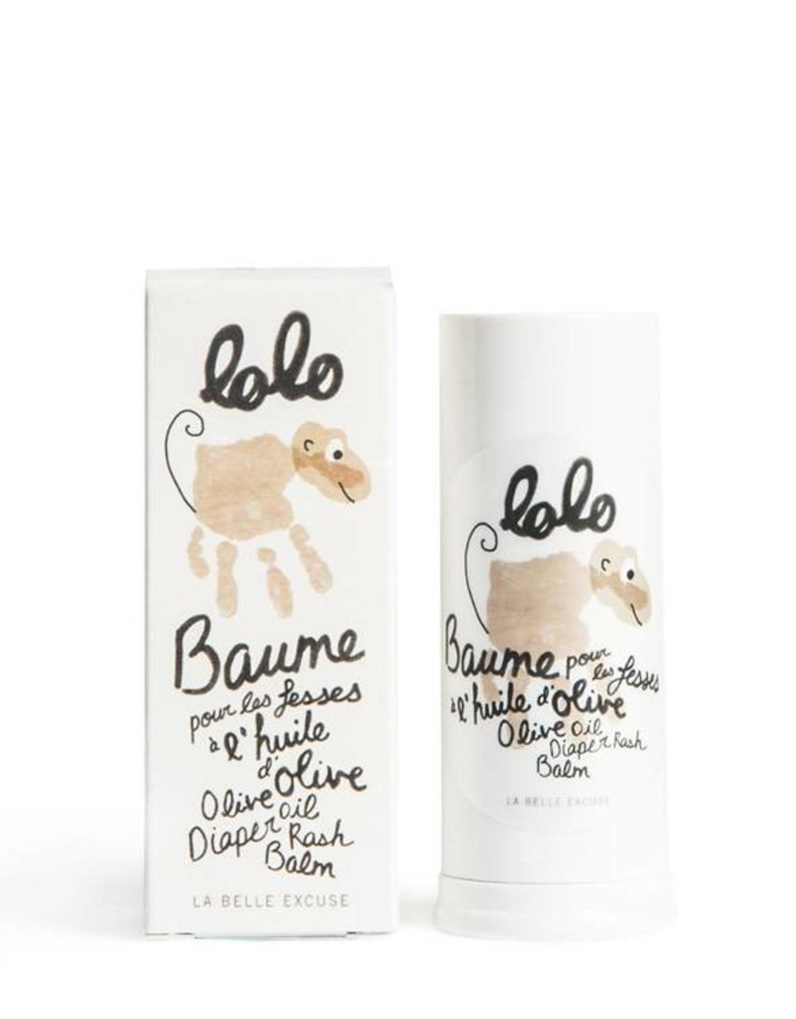Lolo et moi Olive oil diaper rash balm