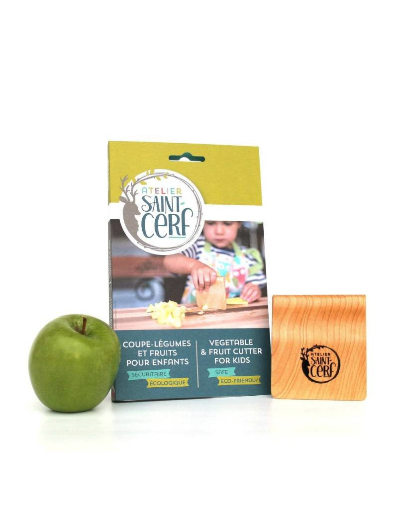 Atelier Saint-Cerf Wooden vegetable and fruit cutter