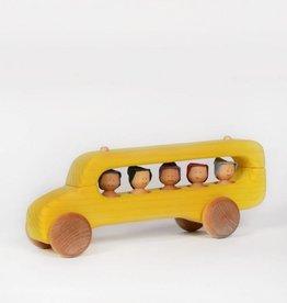Atelier Cheval de bois Wooden school bus