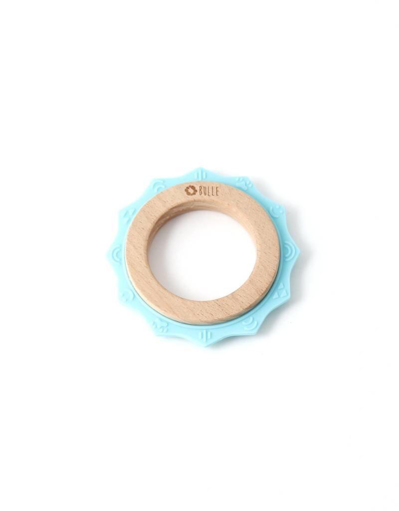 Bulle bijouterie Hochet soleil bleu pâle