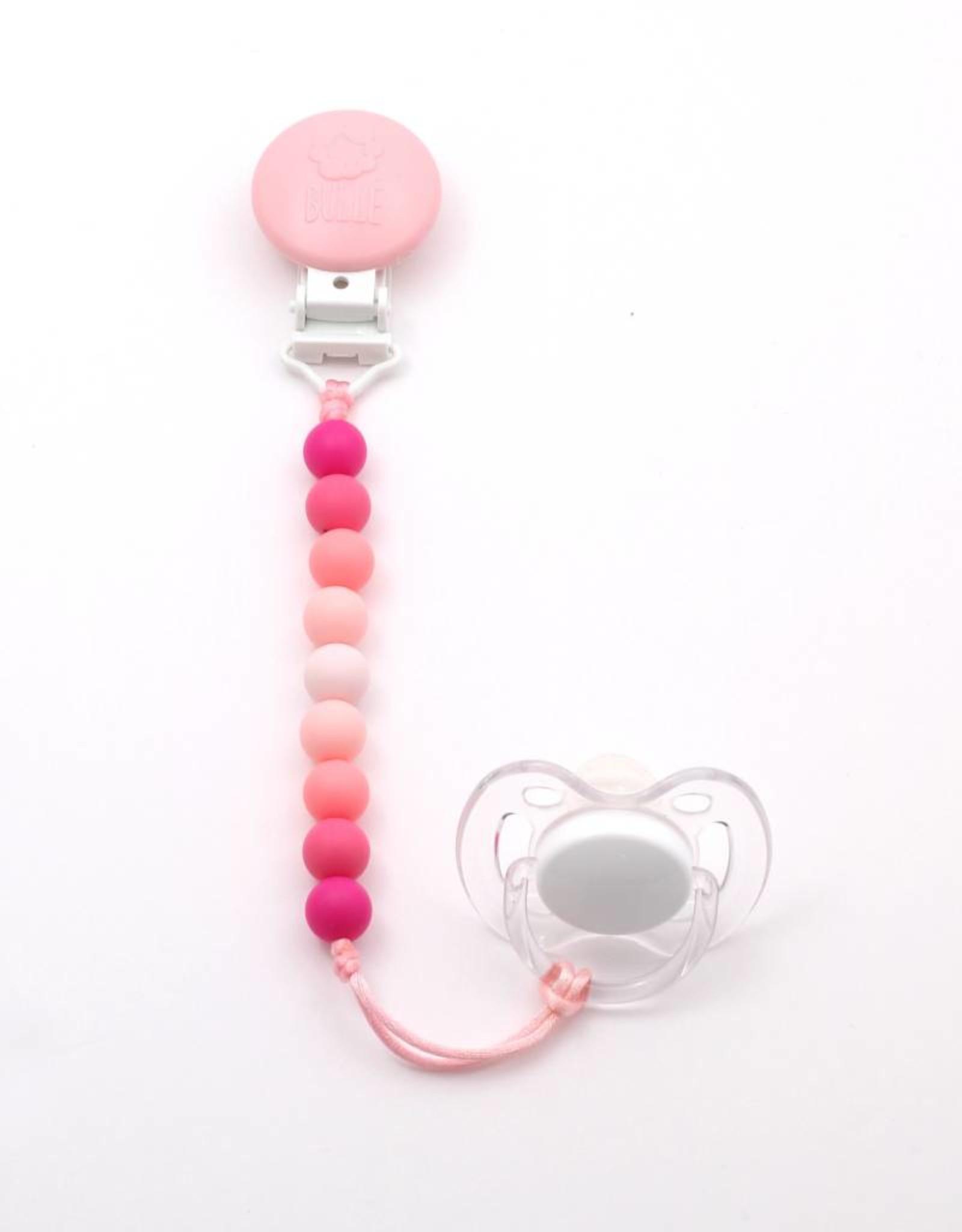 Bulle bijouterie Attache-suce mini - rose pastel, bonbon, bébé, sorbet et fuschia