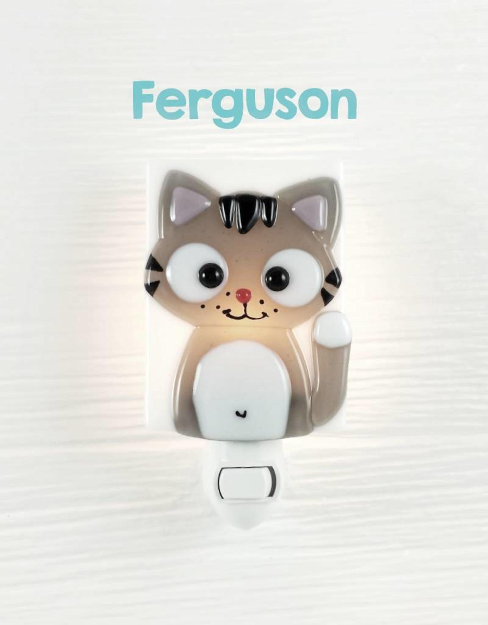Veille sur toi Veilleuse - Chat - Ferguson