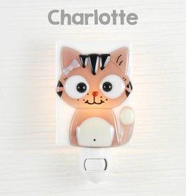 Veille sur toi Nightlight - Cat - Charlotte
