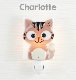 Veille sur toi Veilleuse - Chat - Charlotte