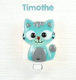 Veille sur toi Veilleuse - Chat - Timothé